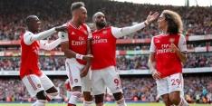 Arsenal boekt dankzij dodelijk aanvalsduo tweede overwinning