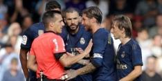 Modric voor één duel geschorst vanwege opmerkelijke rode kaart