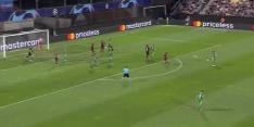 Video: Masopust maakt met knappe volley treffer Slavia Praag