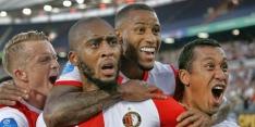 Feyenoord wint ruim en legt basis voor EL-kwalificatie