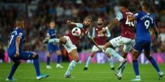 Aston Villa pakt eerste zege, El Ghazi komt tot scoren