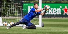Bijlow maakt bij Jong Feyenoord zijn rentree onder de lat