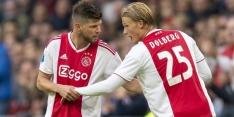 """Huntelaar gaat Dolberg missen: """"Leuke gozer, talentvolle spits"""""""