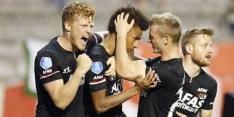 AZ plaatst zich na verhit duel met Antwerp voor Europa League