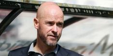 Ten Hag met vrijwel fitte groep naar PSV en wil attractief spelen