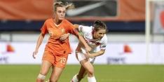 Roord op middenveld bij Oranje Leeuwinnen tegen Slovenië