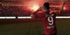 Video: Galatasaray-aanwinst Falcao steelt de show bij presentatie