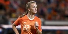 """Lynn Wilms (18) debuteert voor Oranjevrouwen: """"Toch paar tranen"""""""