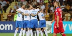 Italië na moeizame zege op Armenië nog altijd foutloos