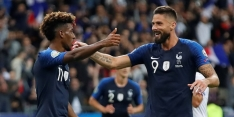 Frankrijk wint van Albanië, Turkije voorkomt blamage