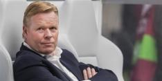 Koeman denkt na over veranderingen bij Oranje tegen Estland
