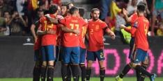 Groep F: Spanje wint ook zesde duel, Zweden remiseert