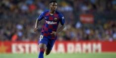 Talentvolle Fati treedt toe tot selectie Koeman bij Barcelona