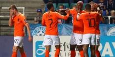 Oranje voldoet aan plicht en boekt ruime zege in Estland