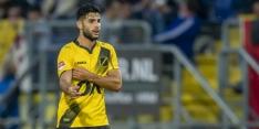 NAC Breda enkele weken zonder Dogan vanwege spierblessure