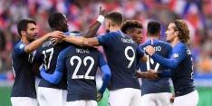 Frankrijk en Turkije lopen uit op verliezend IJsland