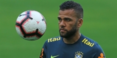 Dani Alves wees terugkeer naar FC Barcelona en Juventus af