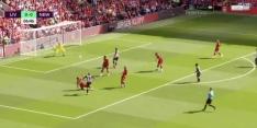 Video: Willems maakt wonderschoon doelpunt tegen Liverpool