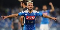 Mertens met 120ste goal belangrijk voor winnend Napoli