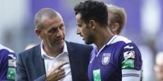 """Anderlecht-coach Davies boos: """"Was onaanvaardbaar"""""""