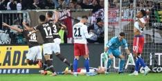 HSV verliest beladen derby; eigen goal Van Drongelen