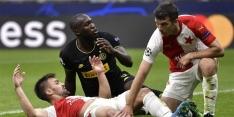Inter slaat flater en ziet Slavia Praag punt meenemen