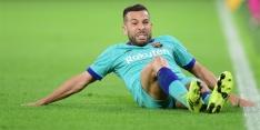 'Barcelona is opgelucht: Alba volgt voorbeeld van Piqué'