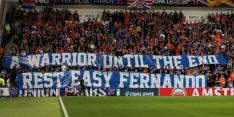 Rouwstoet voor Ricksen stopt woensdag bij Rangers-stadion
