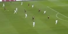 Video: Dolberg maakt met stiftje eerste doelpunt voor Nice