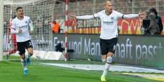 Dost wijst Eintracht Frankfurt met goal de weg in Berlijn