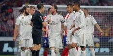 Madrileense derby ontbrandt niet in spektakelstuk: 0-0