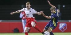 Jong FC Utrecht speelt gelijk, twee gemiste penalty's bij Jong AZ