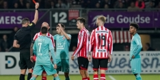 Twente moet Pleguezuelo drie duels missen na rode kaart
