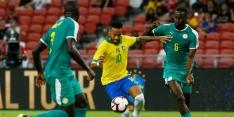Brazilië niet voorbij Senegal in vriendschappelijke interland
