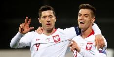 Polen besluit kwalificatiereeks in stijl, Oostenrijk knullig onderuit