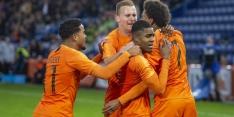 Jong Oranje zet uitstekende start kwalificatie voort
