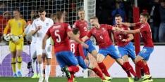 Engeland verslikt zich in Tsjechië en kan EK-ticket nog niet boeken