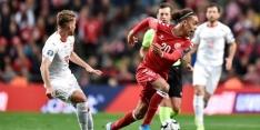 Denemarken dankt Poulsen en Schmeichel tegen Zwitserland