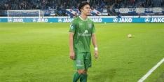 PEC Zwolle voorlopig zonder back Van Wermeskerken