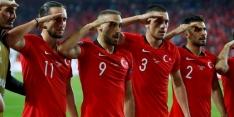 Turkse ploeg krijgt steun van Erdogan wegens saluut