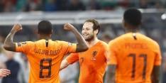 Dubbelslag Wijnaldum helpt matig Oranje aan grote stap naar EK