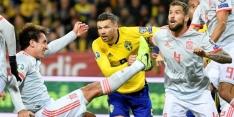 Spanje moeizaam naar EK, Zweden wacht strijd met Roemenië