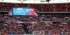 Recordaantal supporters bij vrouweninterland op Wembley
