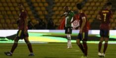 Sporting blameert zich met bekerverlies van derdeklasser