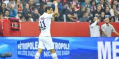 PSG moeizaam naar ruime zege, ondanks assist Dolberg