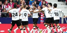 Magistrale vrije trap Parejo levert Valencia punt op bij Atlético