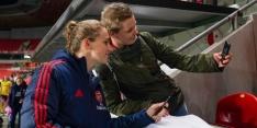 Miedema en Roord trefzeker bij overtuigende bekerzege Arsenal