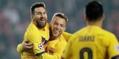 Barça wint moeizaam in Praag, Inter te sterk voor Dortmund
