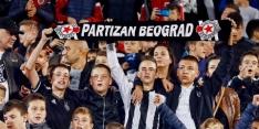 Partizan tegen United weer met thuispubliek na straf voor racisme
