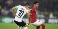 Discutabele penalty kost AS Roma en Kluivert de zege